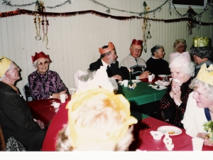 Senior Citizens Xmas Dinner Stratherrick Hall 1991