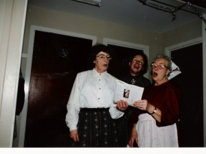 Senior Citizens Xmas Dinner Stratherrick Hall 1992.