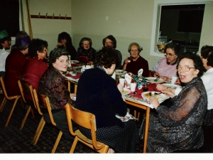 Senior Citizens Xmas Dinner Stratherrick Hall 1992,
