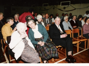 Senior Citizens Xmas Dinner Stratherrick Hall 1992  Entertainment.
