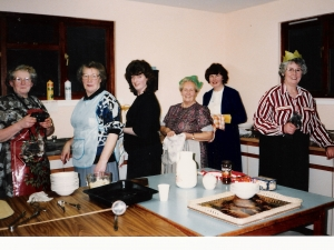 Senior Citizens Xmas Dinner Stratherrick Hall 1991  Catering & Organizers.