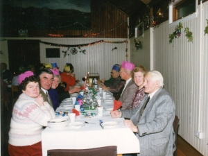 Senior Citizens Xmas Dinner Stratherrick Hall 1990
