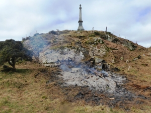 4 April Gorse Ashes.