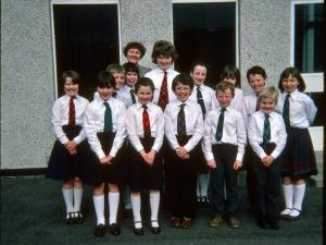 Stratherrick School 1984  .