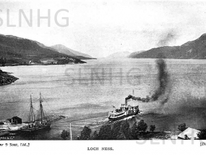 The Gondolier leaving Fort Augustus.