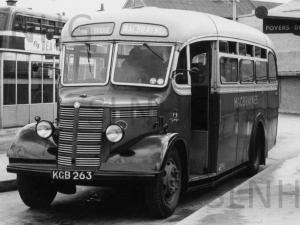 Whitebridge bus around 1950,
