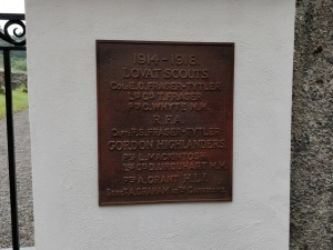 Camerons' Bronze Nameplate